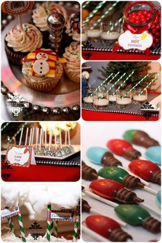 Sweet treats for an ugly sweater Christmas party