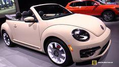 2019 Volkswagen Beetle Convertible - Exterior and Interior Walkaround - 2019 Chicago Auto Show Volkswagen Beetle Interior, Car Volkswagen, Vw Camper, Volkswagen Beetles, Beetle Car, Beetle Juice, Volkswagen Convertible, Vans Vw, Cute Cars