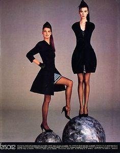 Linda Evangelista for Versace 1988
