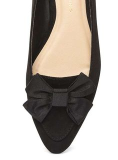 Black 'Hermione' Bow Point Pumps - View All Shoes & Boots - Shoes & Boots - Dorothy Perkins United States