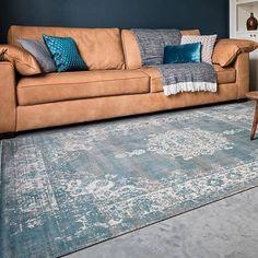Lifa Living Vintage Grey Blue - 133 x 200 Living Room Panelling, Hipster Home Decor, Decor, Round Carpets, Home And Living, Blue Carpet, Round Carpet Living Room, Home Decor, Hipster Home