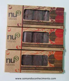 Chocolates funcionais Nu3 | Somando Conhecimento