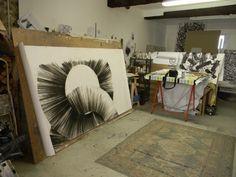 Take a peek inside the studio of artist Nigel Bird: http://magazine.saatchiart.com/articles/artnews/saatchi-art-news/inside-the-studio-saatchi-art-news/nigel-bird