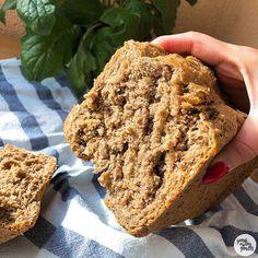 Pan Bread, Bread Baking, Receta Pan Brioche, Empanadas, Sin Gluten, Bread Recipes, Banana Bread, Good Food, Healthy Recipes