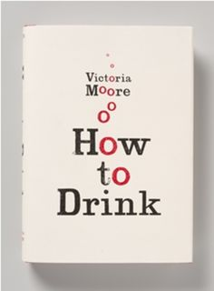 'How to Drink' book cover by Here Design.
