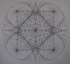Event Horizon - by Jason Padgett - Pencil On Paper