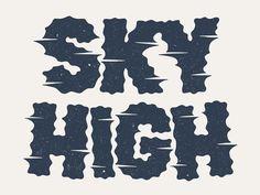 Dribbble - Sky High by Damian King