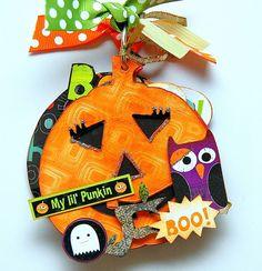 acrylic pumpkin mini