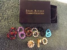 Joan-Rivers-Interchangeable-Goldtone-Clip-Earrings-with-Multicolored-Pearl-Beads