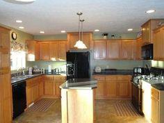 Spacious Kitchen!!  830 M 18, Gladwin, MI.
