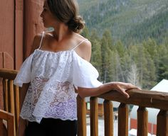 DIY Peasant Blouse | Trash To Couture