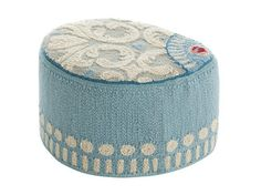 Upholstered wool pouf GOYESCAS | Pouf - GAN By Gandia Blasco