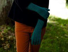 Описание вязания на спицах перчаток с широкой резинкой из журнала «Burda. Creazion» №4/2016