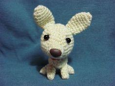 AMIGURUMIS AMOROSOS: Chihuahua amigurumi
