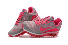 Woman s Nike Air Max 2017 KPU Running Shoes Wolf Grey Peach 898013-060 648d9ec80b9