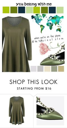 """""""#OurWorld"""" by juromi ❤ liked on Polyvore featuring Valentino"""