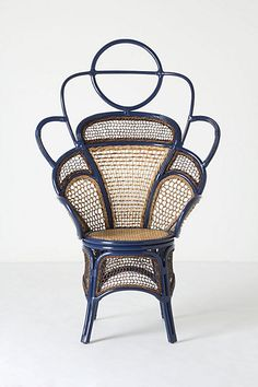 Handwoven Odette Chair #anthropologie  thonet on steroids