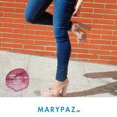 ¡ Feliz semanas a todas con nuestro #shoelfie de lunes ! Descubre la nueva colección Primavera / Verano 2016 ¡ Disponible ya en tu tienda MARYPAZ más cercana y en marypaz.com ! #shoelfie #shoesobssession #obsesionadaconloszapatos #obsesion #tendencias #locaporlamoda Compra estas SANDALIAS DE TACÓN aquí► http://www.marypaz.com/tienda-online/sandalia-de-tacon-y-plataforma-cruzada-con-pedreria-54730.html?sku=74196-35