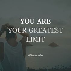 regram @ideasonclothes And this might sound scary but realize it's amazing. You are your greatest limit but just because of that you have the greatest opportunities within yourself. - Follow us  @ideasonclothes - #nolimits #opportunity #positivemindset #grow #motivation #inspiration #success #life #lifestyle #beyourbest #entrepreneurship #entrepreneurs #hustle #motivational #beyourbest #startup #business #positive #grind #leadership #leaders #hardwork #inspire #successful #goals #hustler…