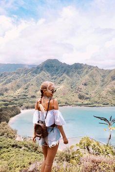 The ultimate Oahu, Hawaii Travelguide - Best beaches, hotels, food... Hawaii Vacation, Oahu Hawaii, Hawaii Pics, Hawaii Pictures, Visit Hawaii, Vacation Pictures, Hawaii Travel, Beach Pictures, Hawaii Water