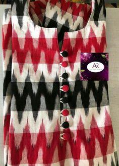 Stylish Neck Designs For Kurtis - Kurti Blouse Chudithar Neck Designs, Salwar Neck Designs, Neck Designs For Suits, Churidar Designs, Kurta Neck Design, Neckline Designs, Kurta Designs Women, Designs For Dresses, Dress Neck Designs