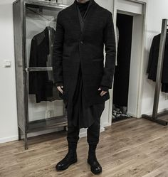 Lentrian, Atelier Aura, The Last Conspiracy, and First Aid to the Injured, at Stil-Ett | menswear in black