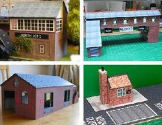 PAPERMAU: A Lot Of New Paper Models For Railway Dioramas - by Wordsworth Model Railway