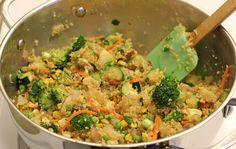 """Quinoa Veggie """"Fried Rice"""" and a Giveaway!"""
