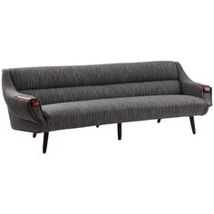 Gorgeous Curved Free Form Sofa by H.W. Klein | From a unique collection of antique and modern sofas at https://www.1stdibs.com/furniture/seating/sofas/