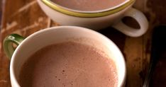 Honey adds unique depth as a sweetener for hot cocoa, balanced by a pinch of salt.