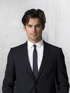 bc sometimes my eyes need candy too.  Matt Bomer of White Collar
