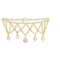 Pippa Small Rain Drop 18-karat gold tourmaline bracelet ($4,930) ❤ liked on Polyvore featuring jewelry, bracelets, tourmaline jewelry, stackers jewellery, 18 karat gold bangles, stacked bangles and pippa small jewelry