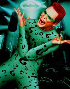 riddle me this...Carey at his craziest