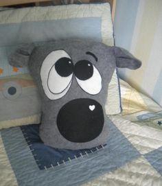 Pajama keeper and pillow - via @Craftsy
