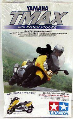 Yamaha Tmax Tamiya #24256 1/24 Scale New Discontinued