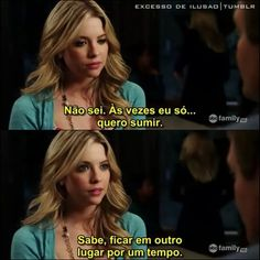 L Quotes, Tv Show Quotes, Some Quotes, Pll Frases, Pretty Little Liars Hanna, Hanna Marin, Hanna Pll, I Have A Secret, Brenda Song