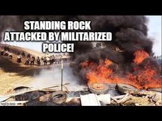 BREAKING WEB EXCLUSIVE: Watch Police Attack Unarmed Standing Rock #NoDAPL Water Protectors! | Redacted Tonight | Click to watch and share video (8:58).