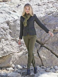 """""""Ella"""" #Blazer und """"Polar"""" #Reiterhose by Brigitte von Boch #bevonboch #breeches"""