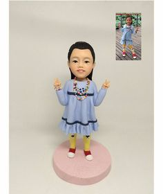 A custom-made figurine of your favorite kid. | 25 Meaningful Personalized Gifts Kids Will Cherish Forever
