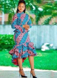 African Formal Dress, Short African Dresses, African Print Dresses, African Attire, African Fashion Ankara, Latest African Fashion Dresses, African Print Fashion, Seshweshwe Dresses, Shift Dresses