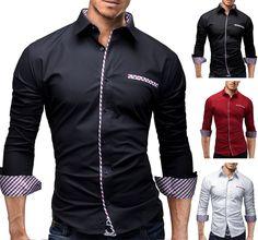 Details zu MERISH Herrenhemd Slim Fit Freizeit Trend Style Hemd Polo T-shirt  NEU 92 0ae4f0fc94
