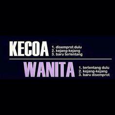 perbedaan Kecoa & Wanita