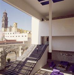 Hotel La Purificadora. Arquitectura LEGORRETA + LEGORRETA. Arquitecto Asociado: Serrano Monjaraz Arquitectos