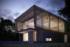 """Farthings House Render from Dezeen, Interview with Henry Goss """"There's always a danger that the client will come along at the end and stick in a whole bunch of crap furniture,"""" he says. """"Then the photographs of the building aren't as good as the renderand everyone calls you out on it."""""""