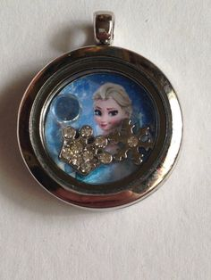 Disney's frozen floating charm locket!