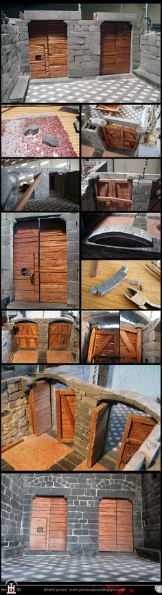 Domus project 91-97: Doors of the warehouse (II) by Wernerio on DeviantArt