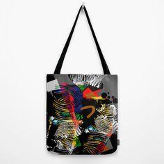 Wild Thing Tote Bag by Raluca Ag   Society6 My Works, Reusable Tote Bags, Artwork, Work Of Art, Auguste Rodin Artwork, Artworks, Illustrators