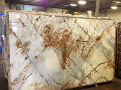 Roma Imperial quartzite; Triton Stone Group of Louisville, KY 502-267-9303