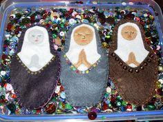 Three nuns.