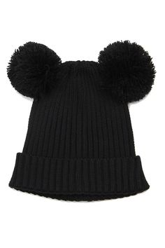 Mini Rodini - Pom-Pom Ear hat by Mini Rodini | the KID who